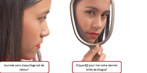 Journée sans maquillage 2015